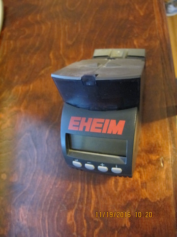 Eheim twin automatic fish feeder wmas message board for Eheim battery operated auto fish feeder